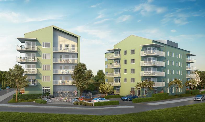 HSB Skåne tar första spadtaget för nya bostadsrätter i Ystad
