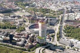 Lokal solenergi ska driva Nordens största kontorshus