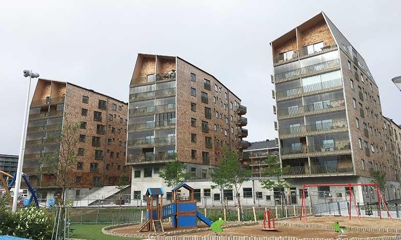 Kvarteret Geologen vann Växjös träbyggnadspris