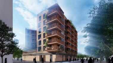 Så blir husen i Gävles nya stadsdel Godisfabriken
