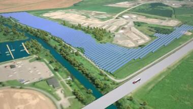 Nu startar bygget av Sveriges största solcellspark