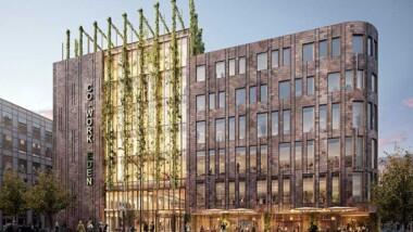 Första spadtag för Kungsledens nya kontorsbyggnad