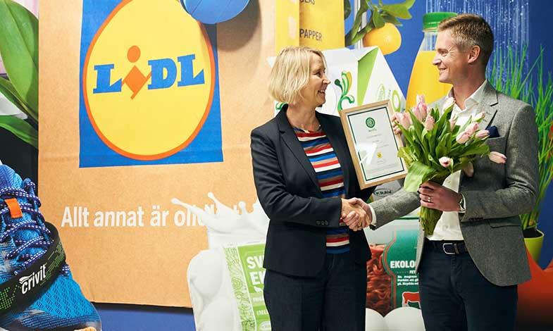 Lidls gotlandsbutik är världens första klimatneutrala livsmedelsbutik