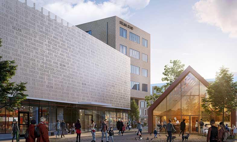 Selma stads handelshus certifierat med Miljöbyggnad Silver
