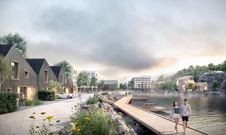 FOJAB föreslår bostadsområde i gammalt stenbrott