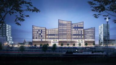 Miljonuppdrag för Peab – bygger Malmös nya domstolsbyggnad