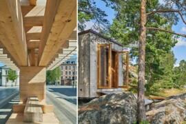 Trafikplats och kajakhus tävlar om Träpriset 2020