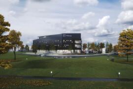 Luleå EAST blir Skanskas mest hållbara kontor i norra Sverige