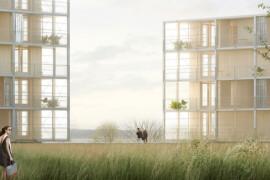 NCC bygger hyreslägenheter vid Vätterns strand