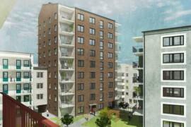 HMB Construction bygger bostäder i Farsta