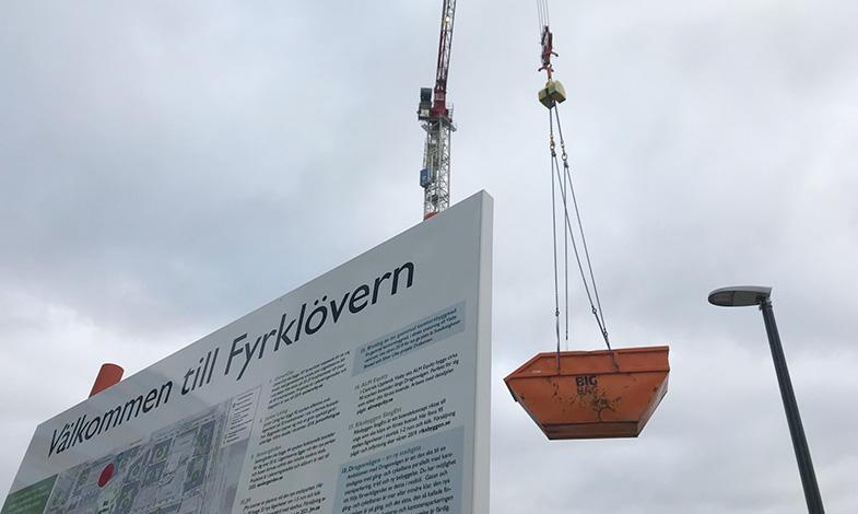 Upplands Väsby kommun lånar pengar till Fyrklövernprojektet