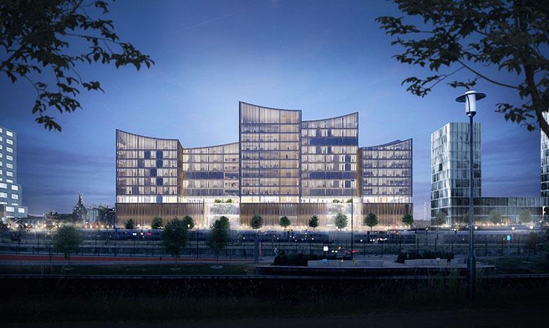 Instalco-bolag installerar i Malmös nya domstolsbyggnad