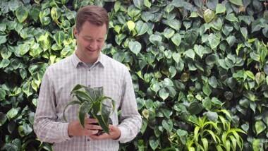 Rymdteknik och intelligenta växter renar luften