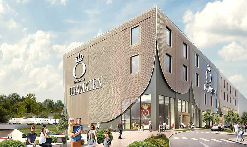 Operan flyttar dekorverkstäder till BREEAM-certifierad byggnad