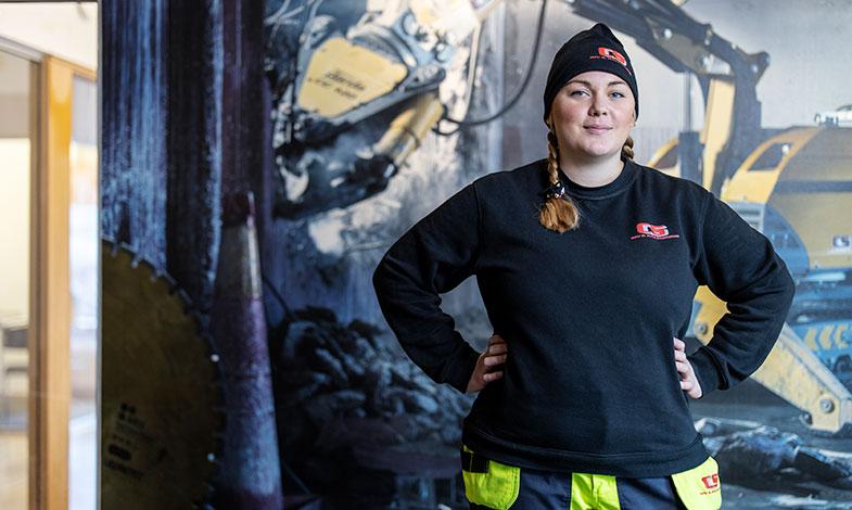 """Amanda tycker att Greta Thunberg borde få en efterföljare i en """"Hans"""" i byggbranschen, en ung man som engagerar massorna för klimatet."""