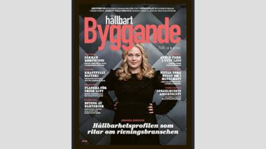 Amanda Borneke i senaste numret av Hållbart Byggande