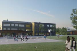 Hemsö startar byggandet av Stockholms första Svanenmärkta skola