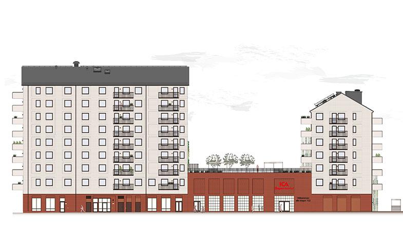 ICA och JM utvecklar stadskvarter i Limhamn