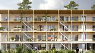 Peab bygger studentlägenheter i Björkhagen
