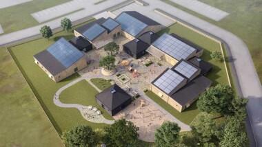 Obos lanserar förskola optimerad för solceller