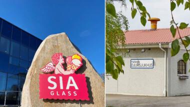 Spillvärme från glassfabrik värmer upp djursjukhus