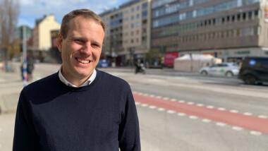 Han blir SGBC:s nya chef för Miljöbyggnad