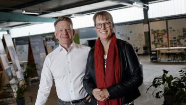 Hon leder arbetet med innovation och hälsa i life science-kluster