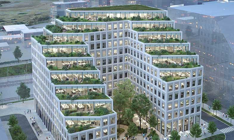 GlasLindberg levererar fasader och fönster till Hyllie Terrass