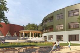 NCC bygger skola och idrottshall i söderort