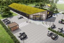 C.F. Møller Arkitekter och Netto bygger livsmedelsbutik i Danmark