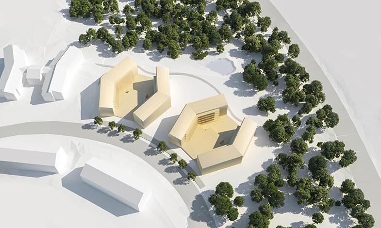 De bygger världens första självförsörjande hyreshus