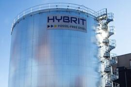 Lyckade försök med att ersätta fossila bränslen i HYBRIT