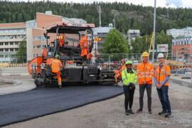 Peab startar unikt projekt – lägger asfalt med lignin