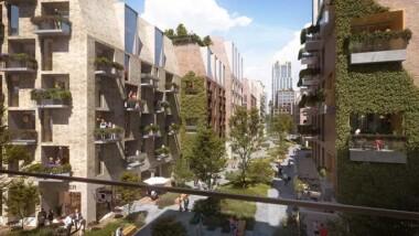 C.F. Møller Architects presenterar vision för en bilfri stadsdel i Århus