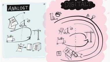 Digital kedja minskar avfallet vid anläggningsbyggande