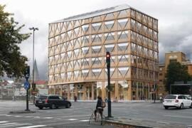 Martinsons levererar stomme till kontorshus av trä