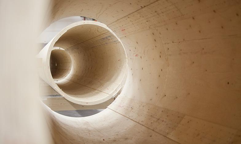 Vattenfall testar Modvions vindkraftstorn i trä