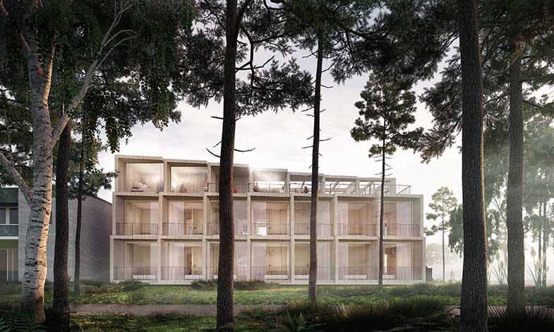 3XN ritar klimatpositivt hotell på Bornholm