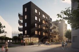 Peab bygger nytt bostadsprojekt i Hyllie