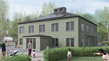 Hoivatilat och Metropolis arkitekter vinner tävling om ny förskola