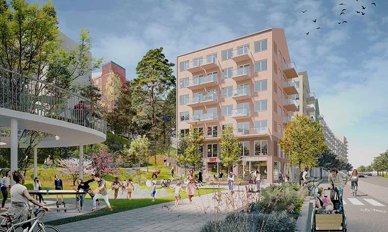 Bonava vinner markanvisning i Husby