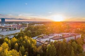 Ny studie: klimatsmart med lättbalkar och mer träbaserade material