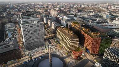 Sergelhuset blev årets LEED-projekt på Sweden Green Building Awards
