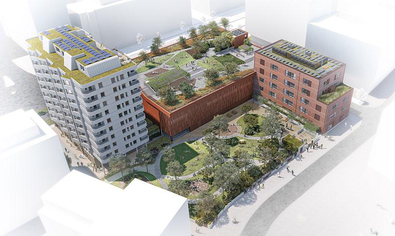 NCC bygger Skandia Fastigheters nya kvarter i Västra Hamnen