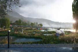 Parken som ska klara klimatförändringar 100 år framåt