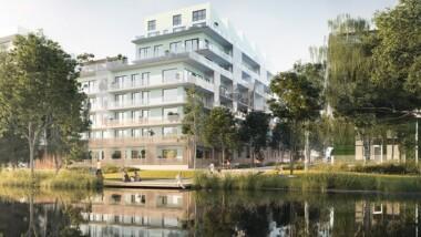 Riksbyggens Brf Djurgårdsvyn certifieras med Miljöbyggnad Guld
