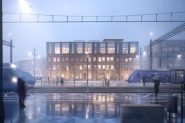 Första spadtag för Kävlinges nya medborgarhus