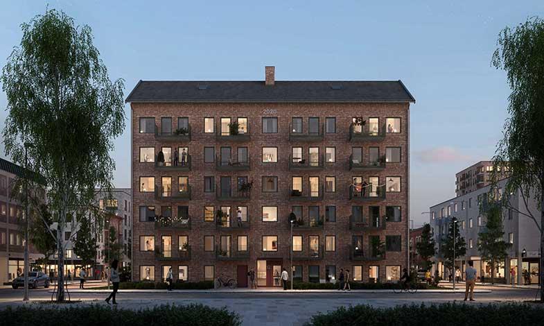 Peab lanserar koncept för färdigprojekterade flerbostadshus