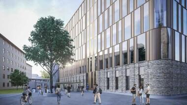 Miljöbyggnad Guld på rekordtid till forskningsbyggnad