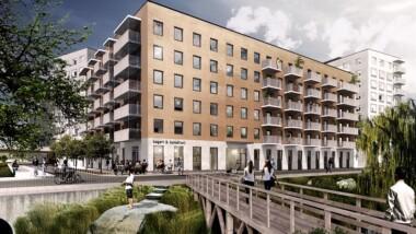 Skanska säljer bostadskvarter för mångmiljonbelopp